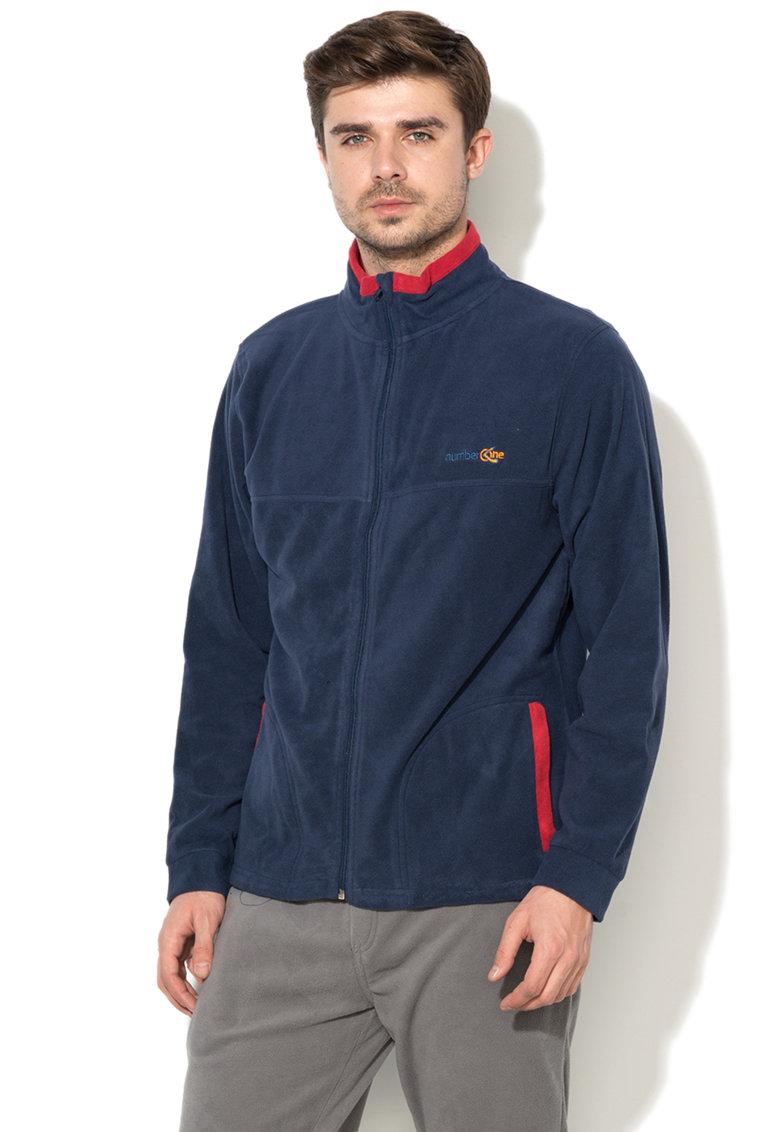 Bluza sport din fleece cu fermoar thumbnail