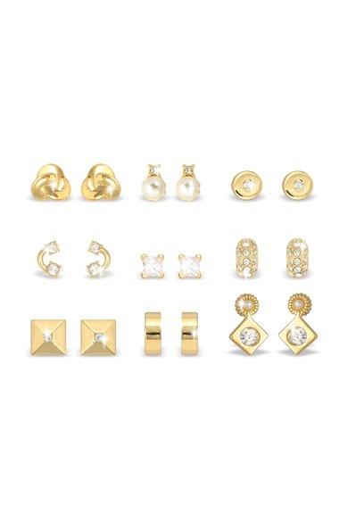 Pierre Cardin Seturi de cercei aurii cu tija