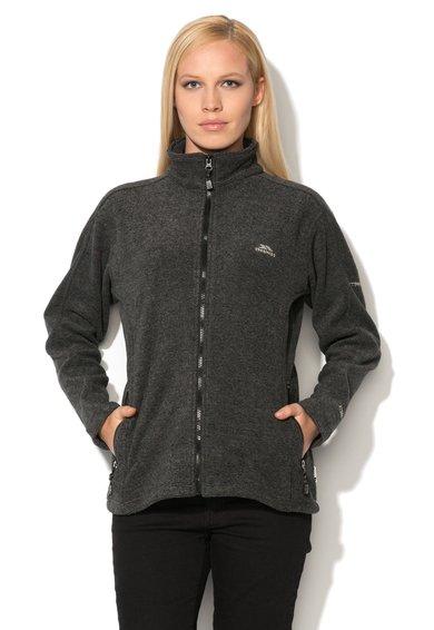 Bluza sport gri din fleece Minx de la Trespass