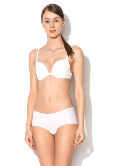 Sutien push-up alb cu bretele multifunctionale de la Skiny