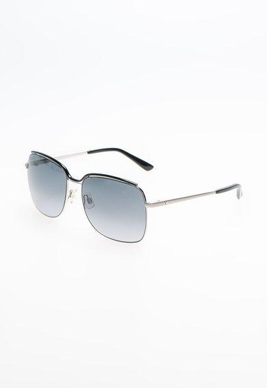 Ochelari de soare argintiu cu negru de la Hogan
