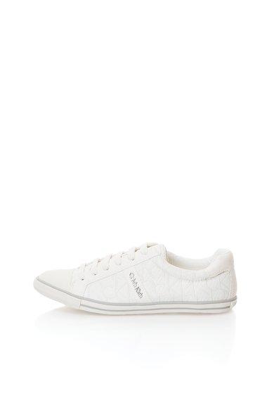 Calvin Klein Tenisi albi cu model logo Xola