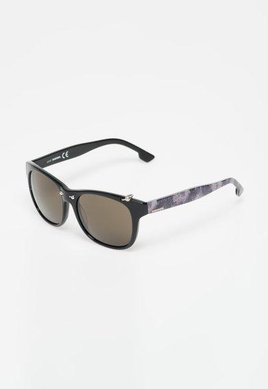 FashionDays.ro: Ochelari de soare negri cu aplicatii Diesel