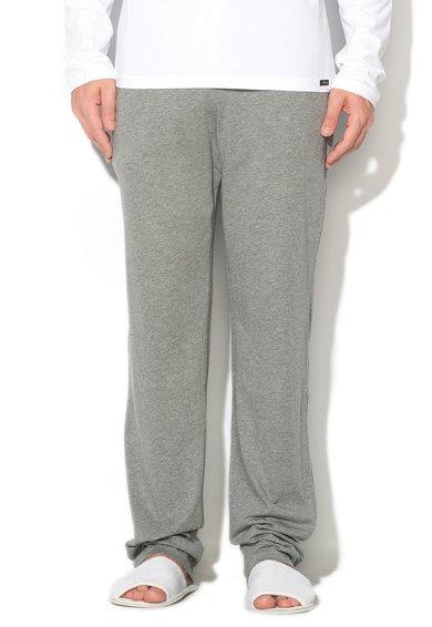 Pantaloni sport gri melange cu buzunare Recreate Sleep de la Skiny