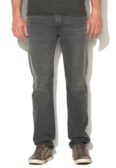 Levi`s Jeansi slim fit conici gri 522™