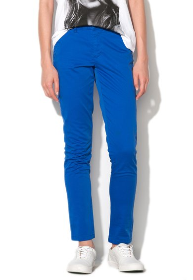 Eleven Paris Pantaloni conici albastru royal Sequoia