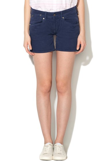 FashionDays.ro: Pantaloni scurti bleumarin regular fit din denim Sioux Pepe Jeans London