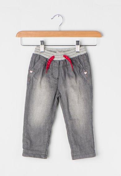 Pantaloni gri cu buzunare pe partea din spate de la ESPRIT