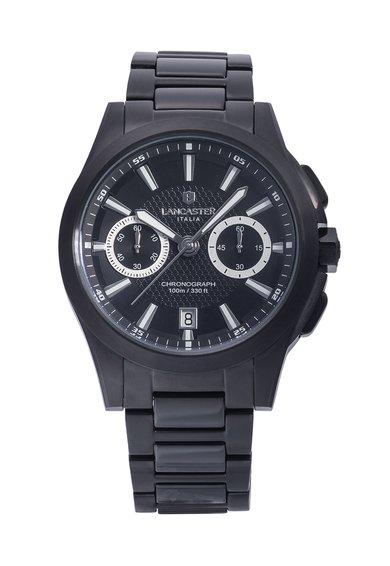 FashionDays.ro: Ceas cronograf negru Lancaster