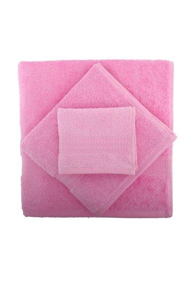 Set de prosoape roz – 3 piese de la Hobby