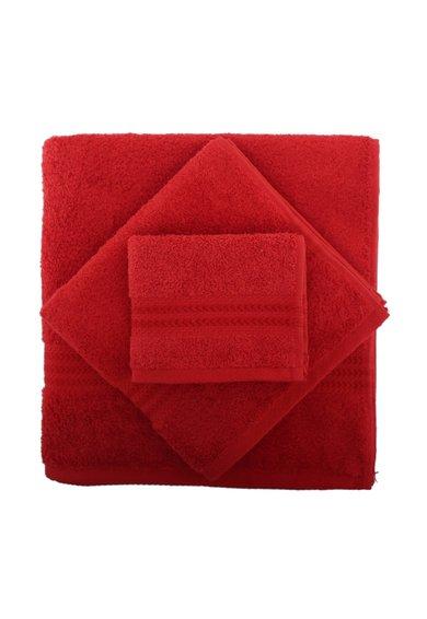 Set de prosoape rosii – 3 piese de la Hobby