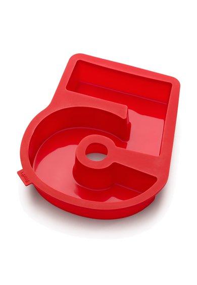 Forma rosie din silicon platinat 5-Figure de la Lekue