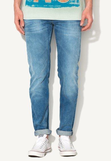 FashionDays.ro: Jeansi slim fit albastri Knox Pepe Jeans London