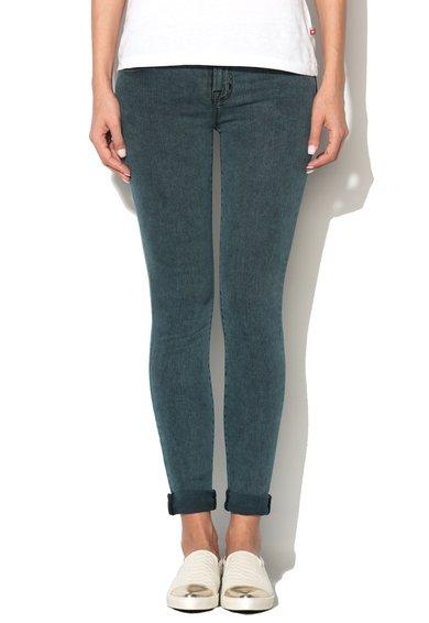 Jeansi skinny albastri