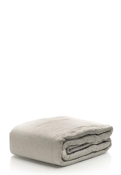 Cuvertura texturata gri cenusa de la Clayre  Eef