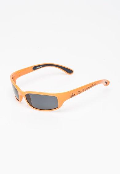 Ochelari de soare oranj cu lentile polarizate de la Polaroid