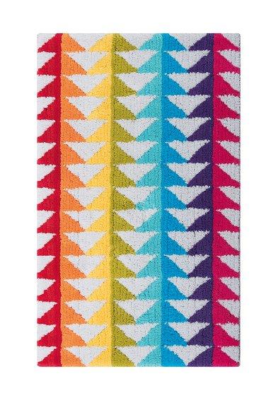 Covoras de baie multicolor