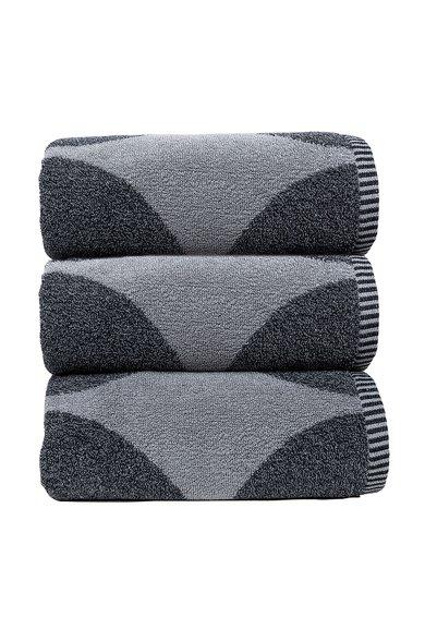 Set de prosoape in nuante de gri Urban – 3 piese de la Sorema