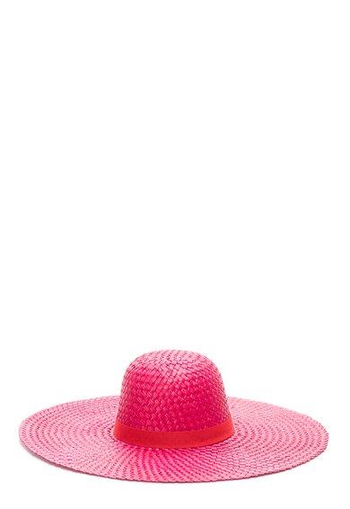 Bojua Palarie roz aprins tesuta