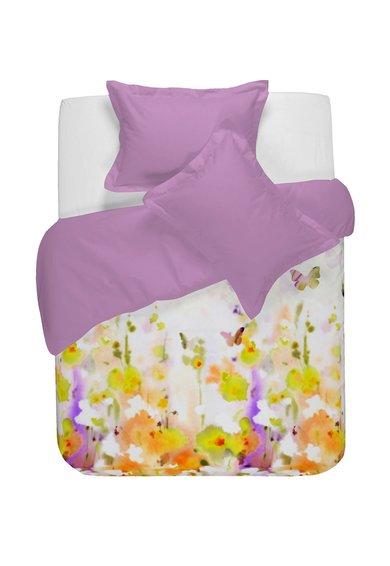 NAF NAF linge de maison Set de pat lila cu alb cu imprimeu floral Shira