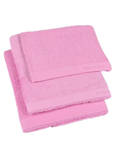 Set de prosoape roz Casual - 3 piese