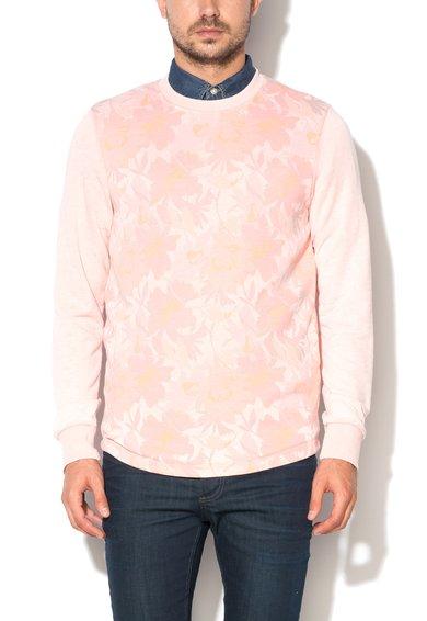JackJones Bluza sport slim fit roz Drake