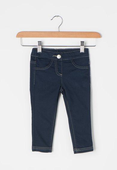 FashionDays.ro: Jeggings skinny bleumarin inchis United Colors Of Benetton