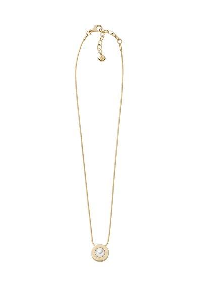 Colier auriu cu pandantiv cu perla de la Skagen