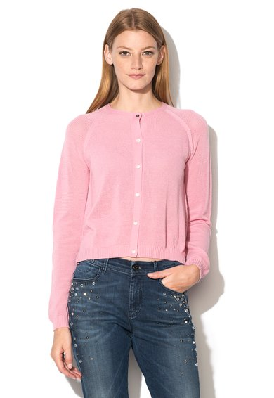 FashionDays.ro: Pulover roz de lana virgina Glenn Marella Sport