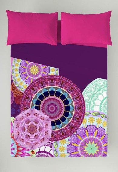 FashionDays.ro: Set multicolor de cearsaf si fata de perna Ninfa Naturals