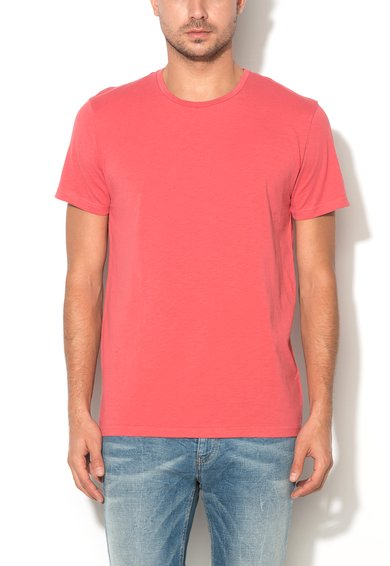 Tricou roz grenadine de la United Colors Of Benetton