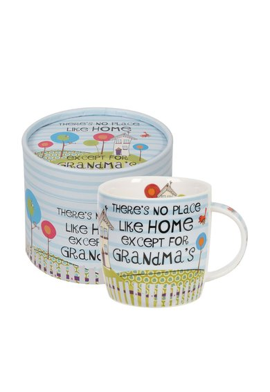 FashionDays.ro: Set cadou multicolor cu cana Good Life Grandma Churchill