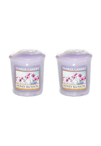 Yankee Candle Set de lumanari parfumate Honey Blossom – 2 bucati