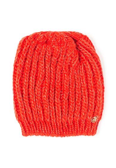 Caciula rosie tricotata