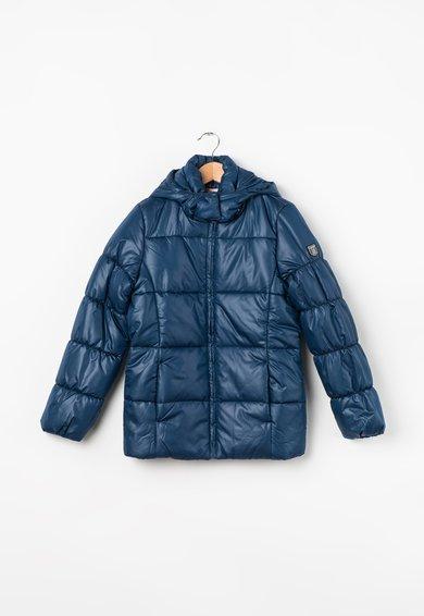 Jacheta albastra matlasata
