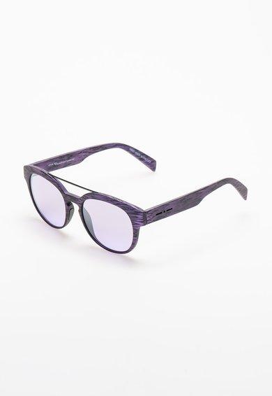 Ochelari de soare purpuriu cu negru