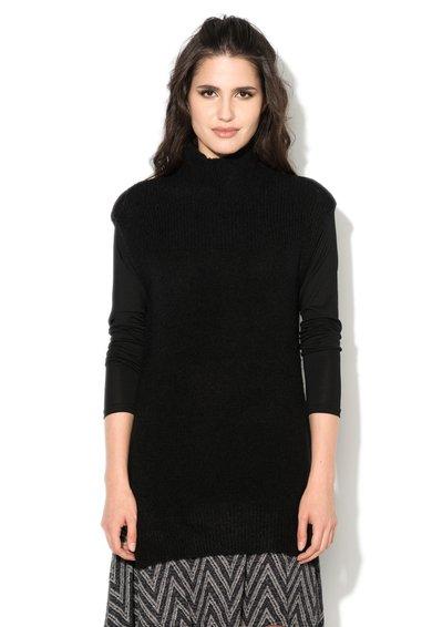 Bluza tricotata neagra fara maneci Manna de la b.young