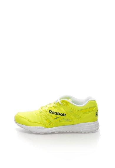 Pantofi sport galben neon cu Ventilator de la Reebok