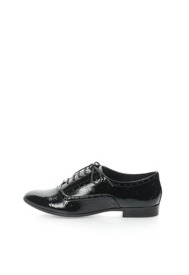 Pantofi Oxford negri lacuiti Tapie de la Steve Madden
