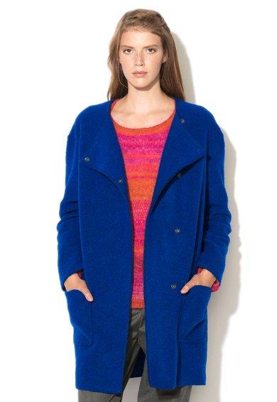 Haina albastru royal din amestec cu lana de la United Colors Of Benetton