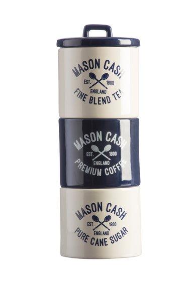 Set de recipiente pentru cafea, ceai si zahar Varsity – 3 piese de la Mason Cash