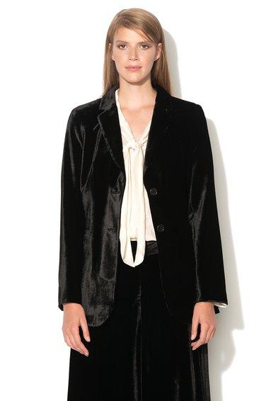 FashionDays.ro: Sacou negru de catifea Baglio Pennyblack