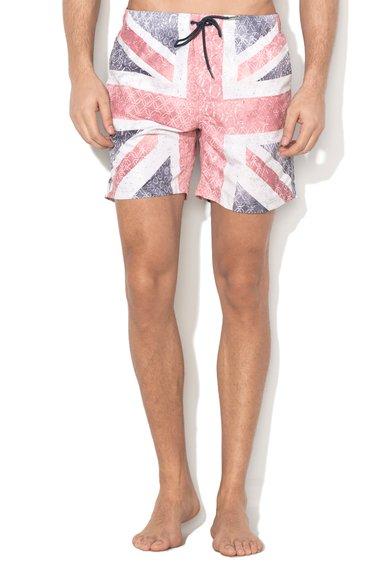 Pantaloni scurti de baie multicolori Carter
