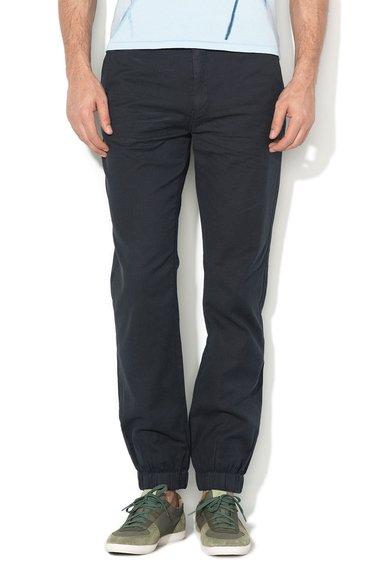 Pepe Jeans London Pantaloni bleumarin inchis texturati Ralph