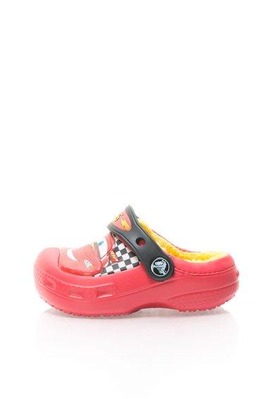 FashionDays.ro: Saboti slingback rosii cu captuseala Kids Cars® Crocs