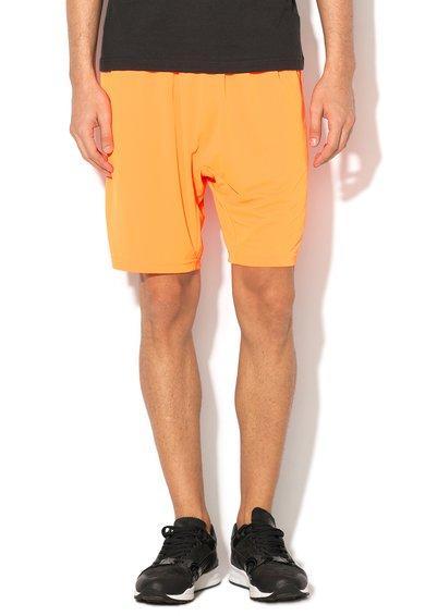 Bermude oranj neon Adizero de la adidas