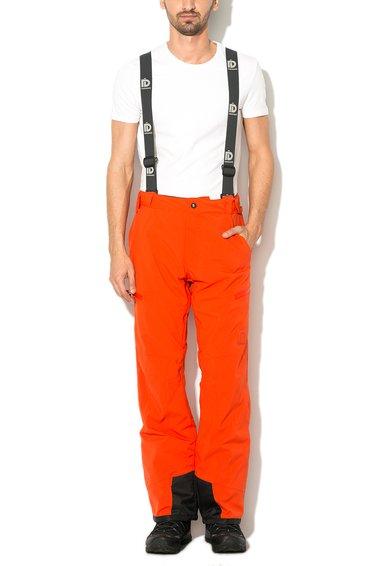 Fundango Pantaloni rosii elastici pentru sporturi de iarna Granite