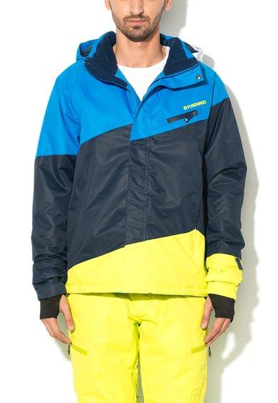 Jacheta multicolora pentru sporturi de iarna Limestone de la Fundango
