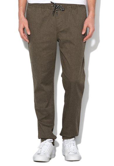 Mexx Pantaloni slim fit verde militar din denim