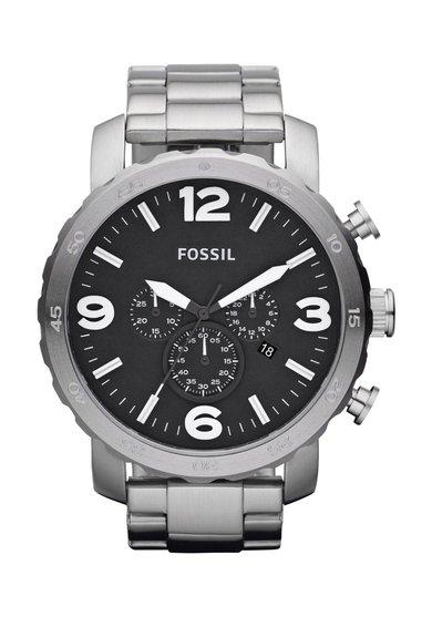 FashionDays.ro: Ceas cronograf argintiu Fossil